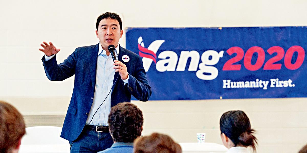 ■民主黨總統候選人楊安澤在上季籌款280萬美元。其中81%來自捐款不到200美元的小額捐款人。美聯社