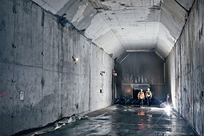 Gateway計劃將興建及修理橋隧,連接紐約及新州。Philip Montgomery/紐約時報