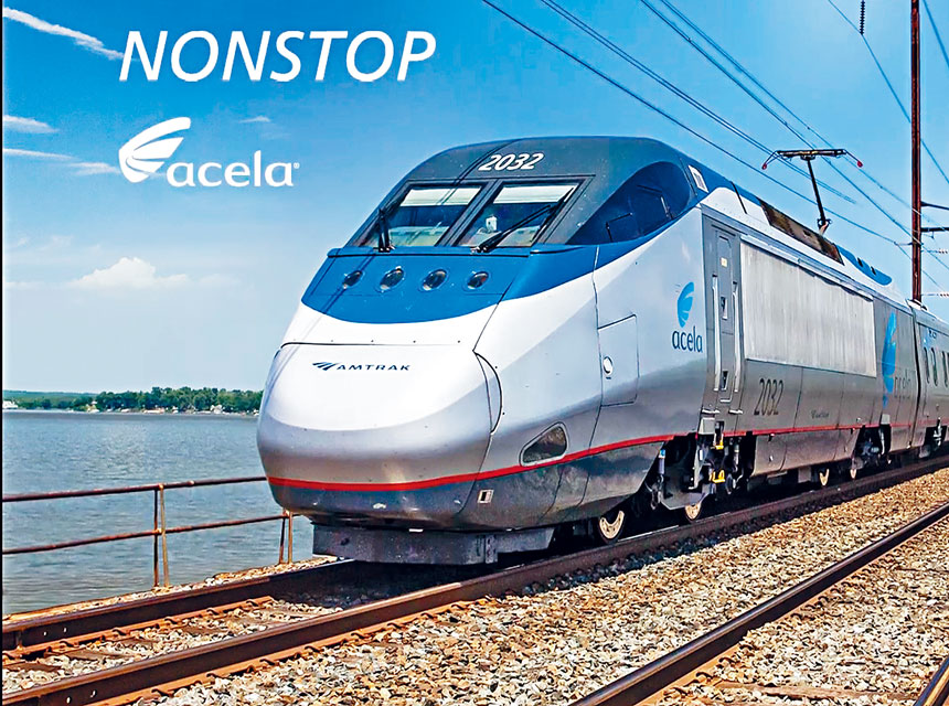 美�F即�⑼瞥觥�Acela Nonstop」列�,已提早�A售�票。�W上�D片