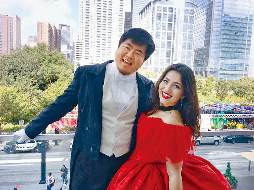 在世界頂級舞台唱歌劇的旅美歌唱家郁永釗,將亮相9月22日中美音樂會。華聯會提供