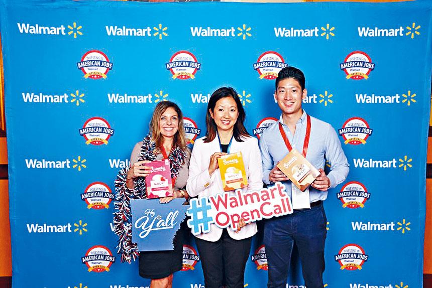 甜甜冰品公司聯合首席執行官,公司創始人之子李家祥與首席營銷官程玢女士贏得在沃爾瑪出售甜甜麻糬冰淇淋機會。