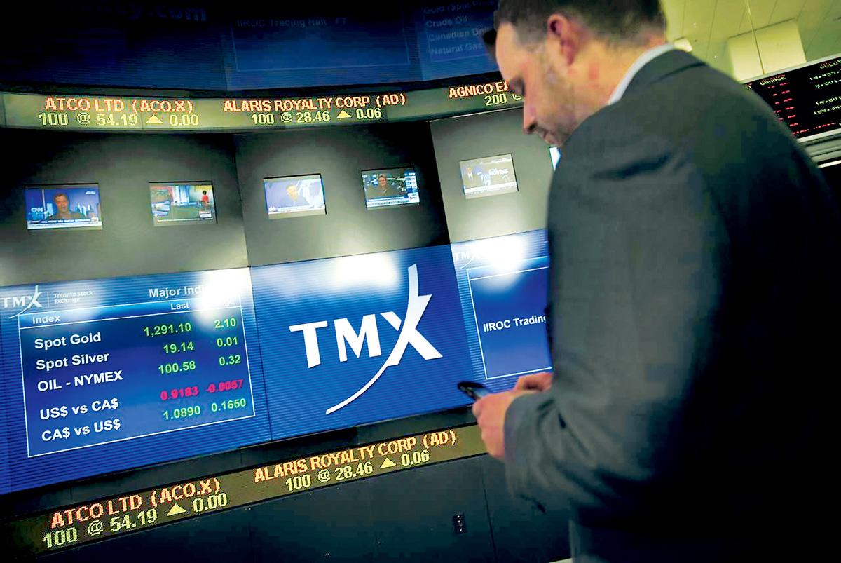 ■多倫多股市周四表現平靜。星報