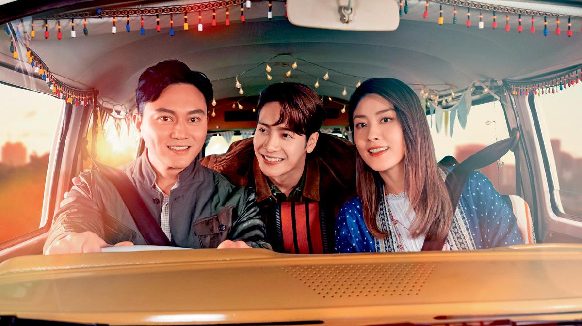 ■陳慧琳、張智霖與王嘉爾拍攝全新廣告片。