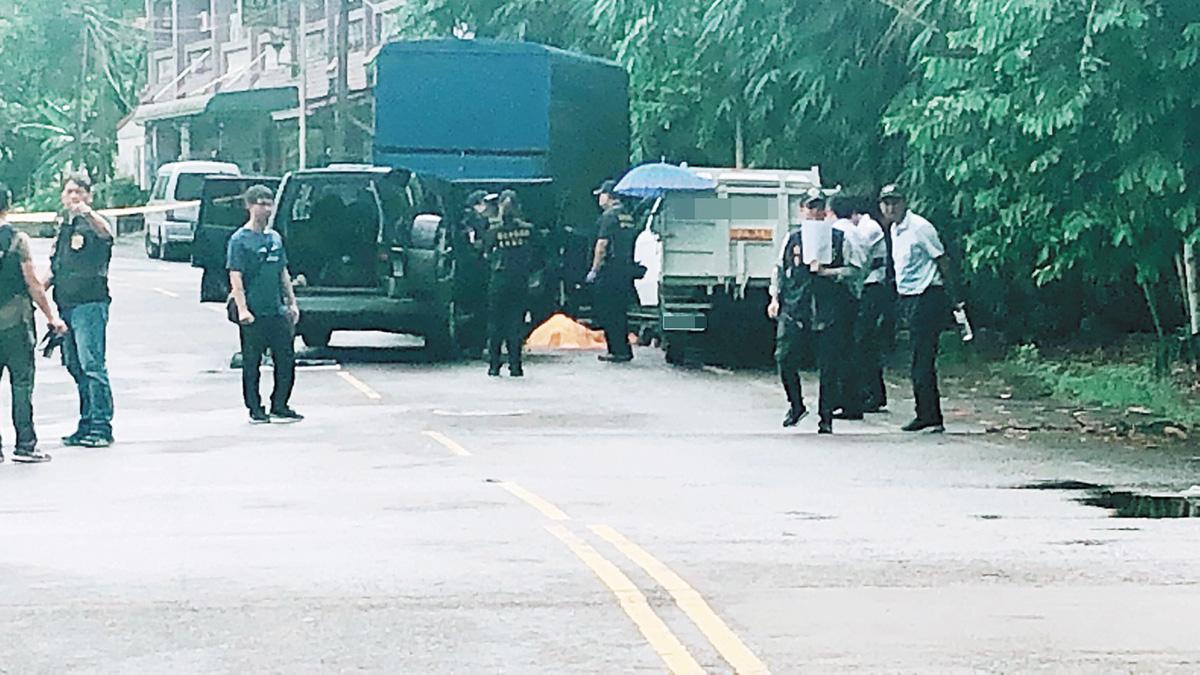 警方10日凌晨在嘉義縣大埔鄉進行圍捕,陳宏宗遭警方擊斃。中央社