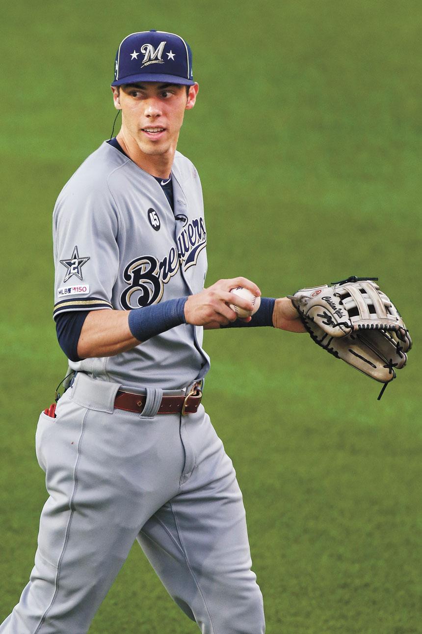 圖為耶利希在克利夫蘭參加美國職業棒球大聯盟全明星賽。法新社