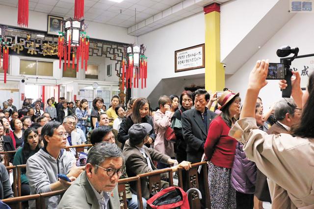 華裔民眾踴躍發言。