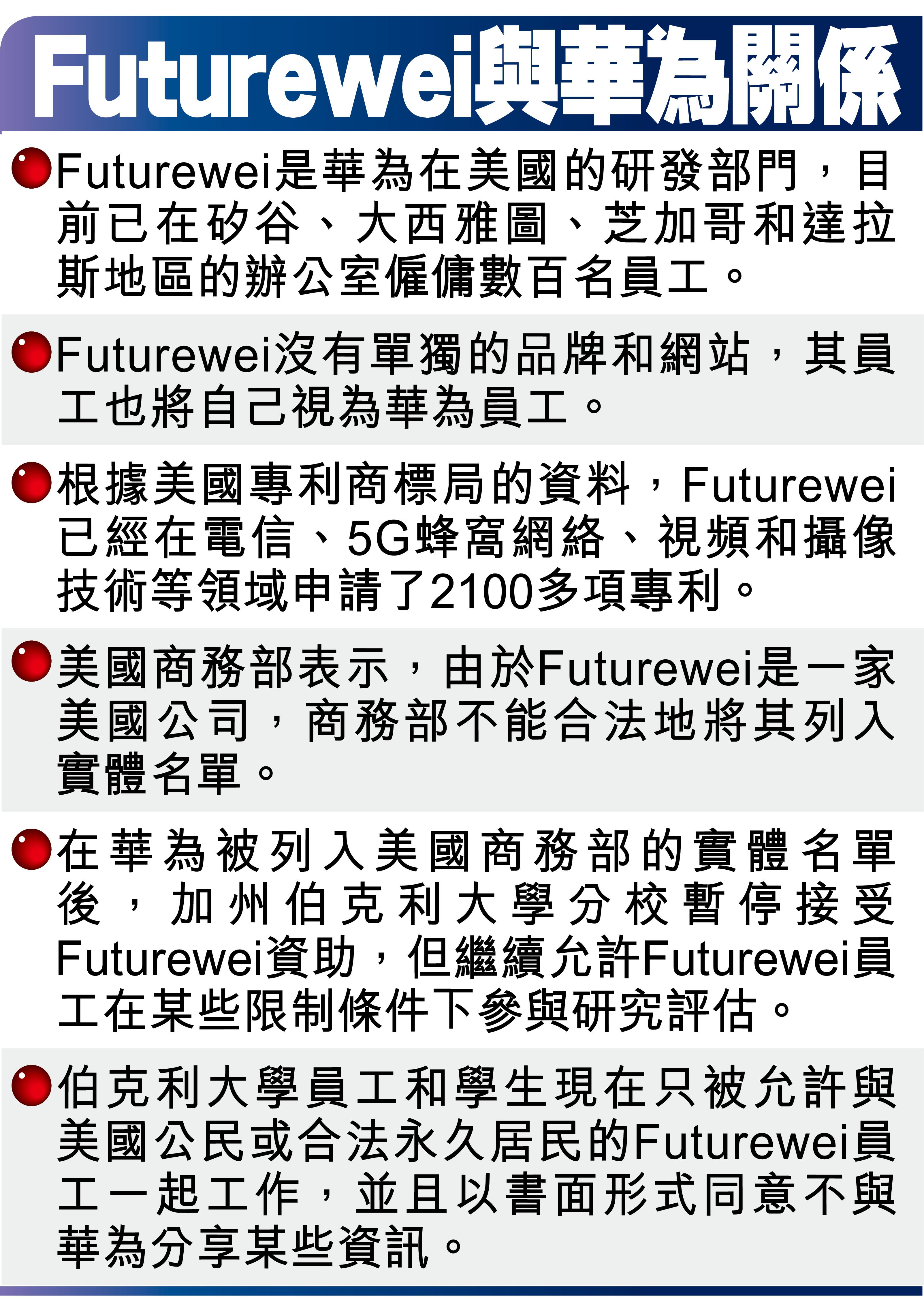 Futurewei與華為關係