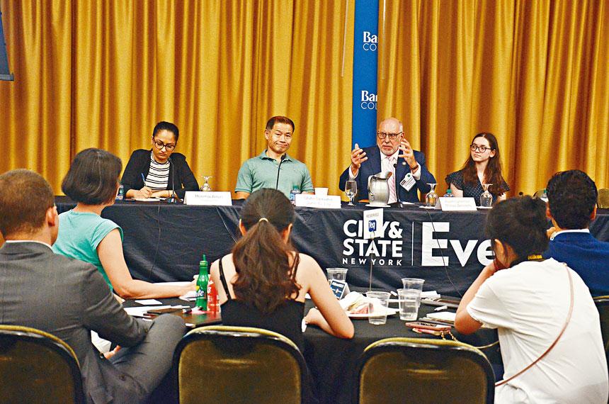 City & State 在市立大學巴魯學院舉辦教育峰會。