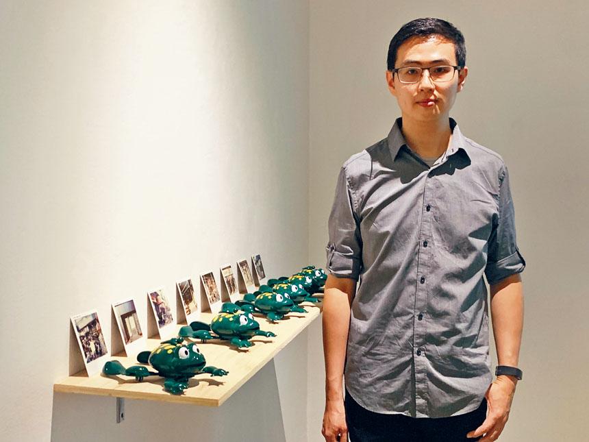 藝術家楊翔任個展「何在」即日起至9月20日在美華藝術協會開展。
