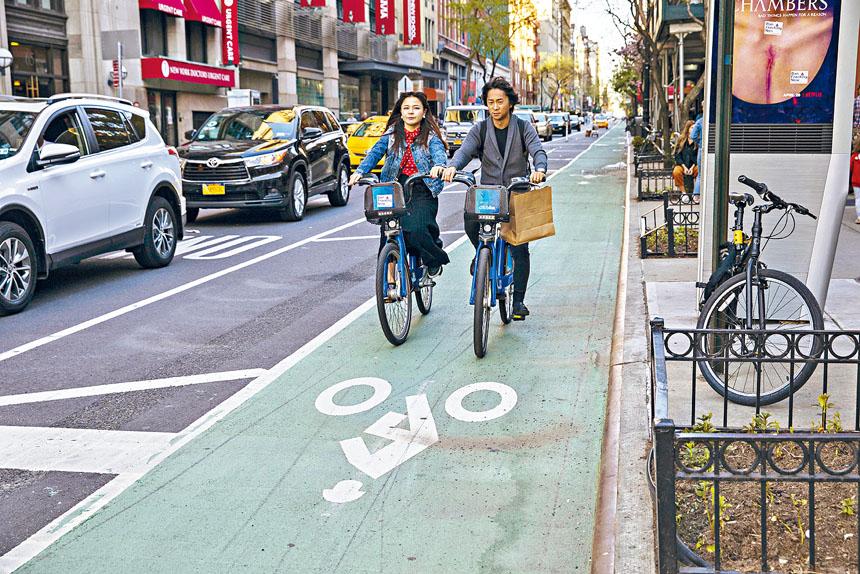 「Citi Bike」計劃於未來數年規模擴大一倍。Hiroko Masuike/紐約時報