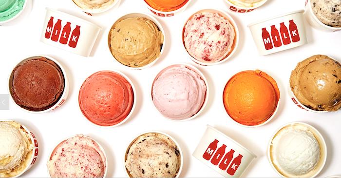 """想吃原味的""""洛杉磯製造"""",Milk 冰淇淋無疑是首選。"""