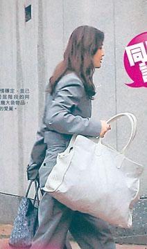 阿Sa被拍到收工返回男友位於九龍塘筆架山道的豪宅