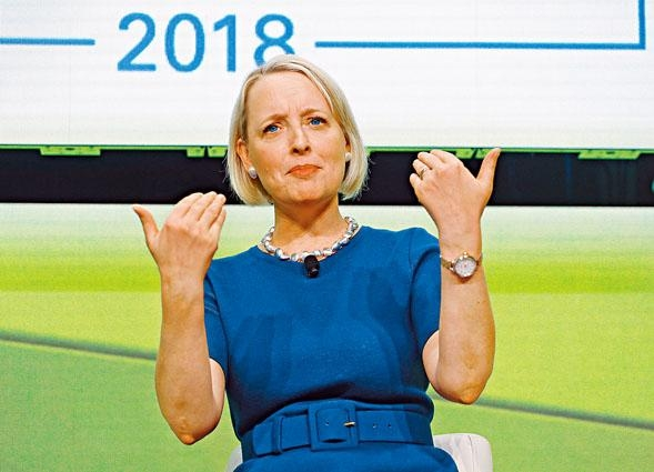 管理諮詢公司Accenture行政總裁斯維特。