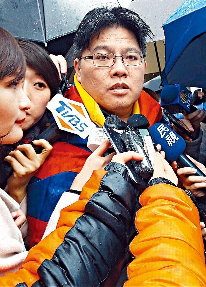 時代力量黨主席邱顯智辭職。