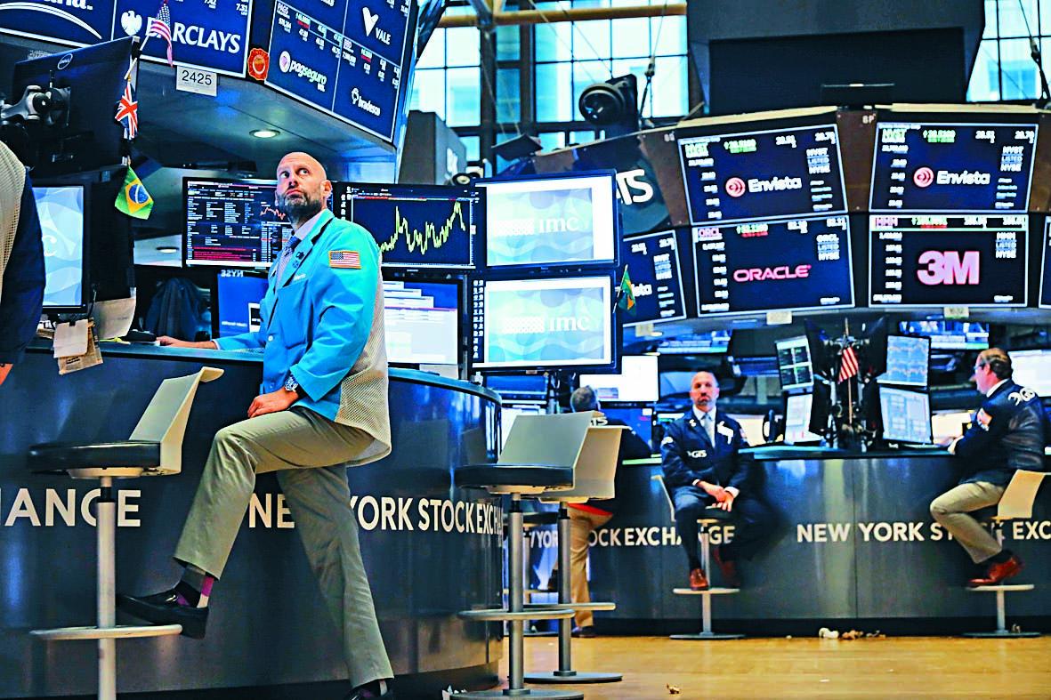 美股上周五最終倒跌收場,杜指全周下跌1.1%。