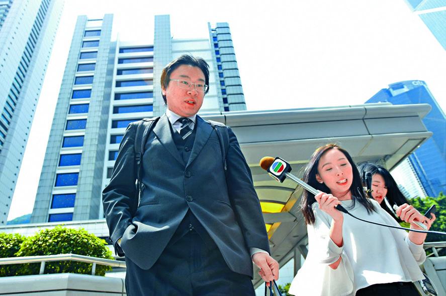 見習事務律師朱承曄,獲法官批出律師執業認許。