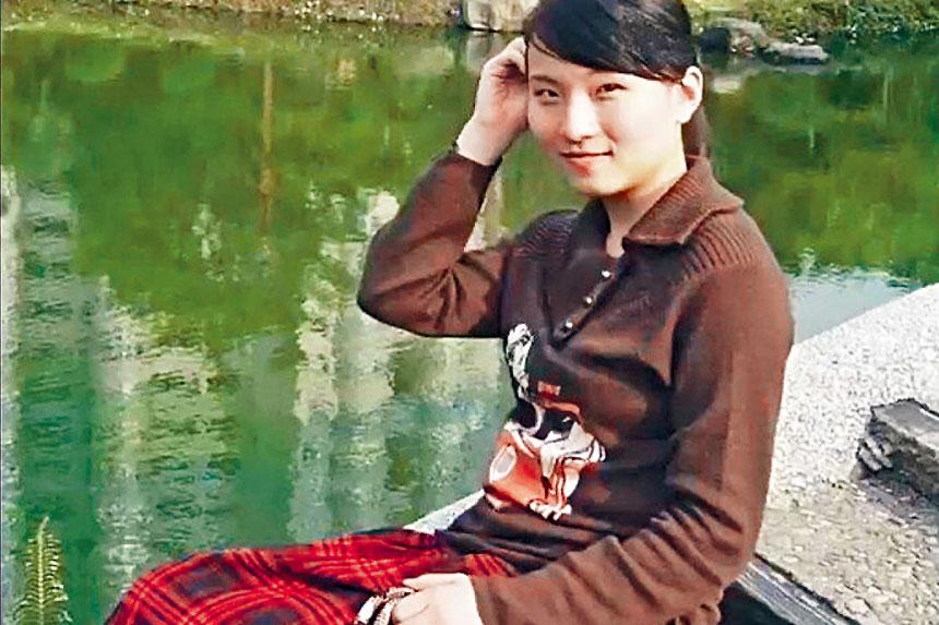 33歲的張玉婧,未有被控從事間諜活動,但據報檢察官已提交秘密證據,證明她與情報活動有聯繫。    網上圖片
