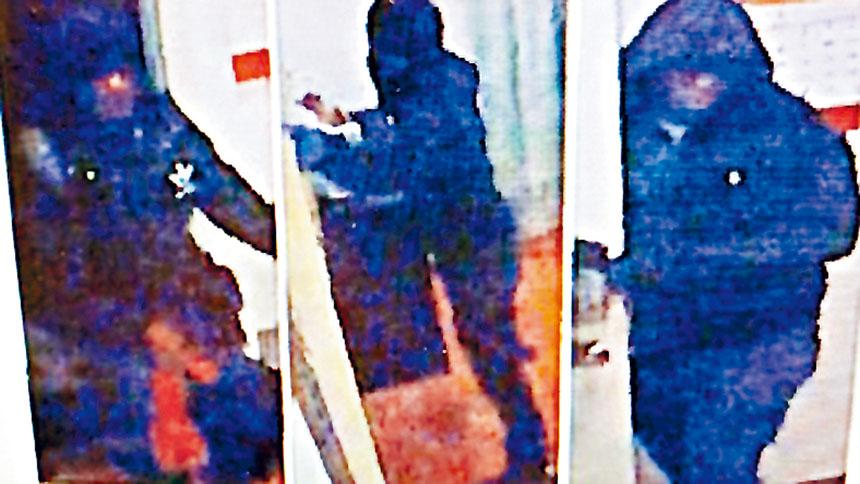 皇后小�i���θA�D�c持械劫案3非裔嫌疑人先後落�W,警方�善迫�案。�n案照片