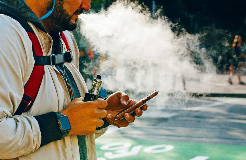 反電子煙風潮席捲全國。Jason Henry/紐約時報