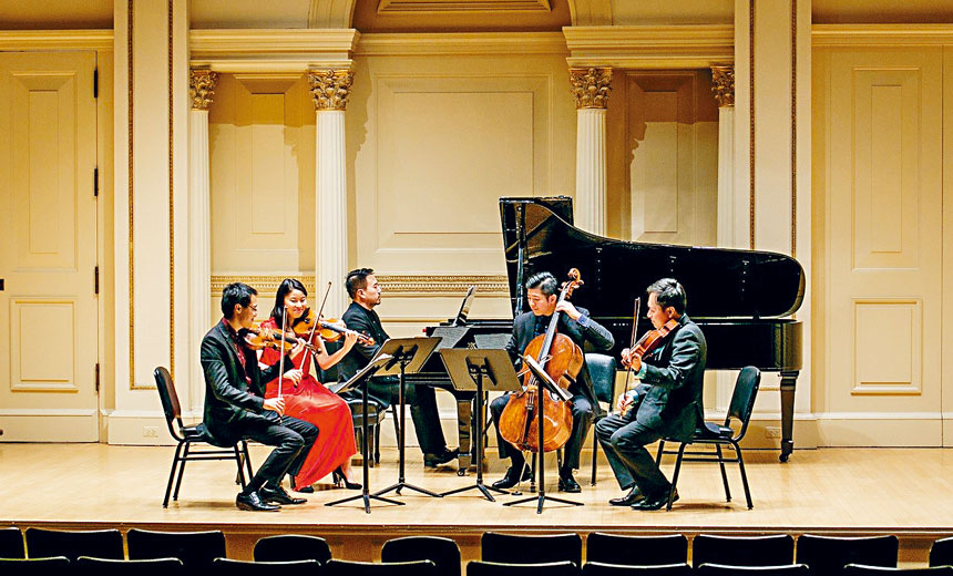 第二度攜手知名鋼琴家張放於紐約音樂聖地卡內基音樂廳(Weill Recital Hall at Carnegie Hall,)舉行 Music From China Featuring Zhang Fang —《中國樂音與張放》。