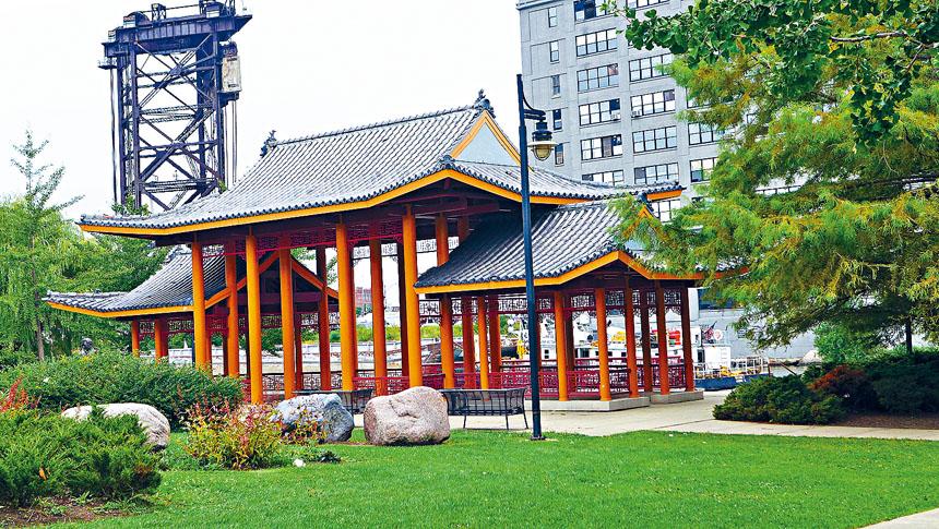 歷盡重重磨難的譚繼平紀念公園,終於迎來了第20年週年慶。梁敏育攝
