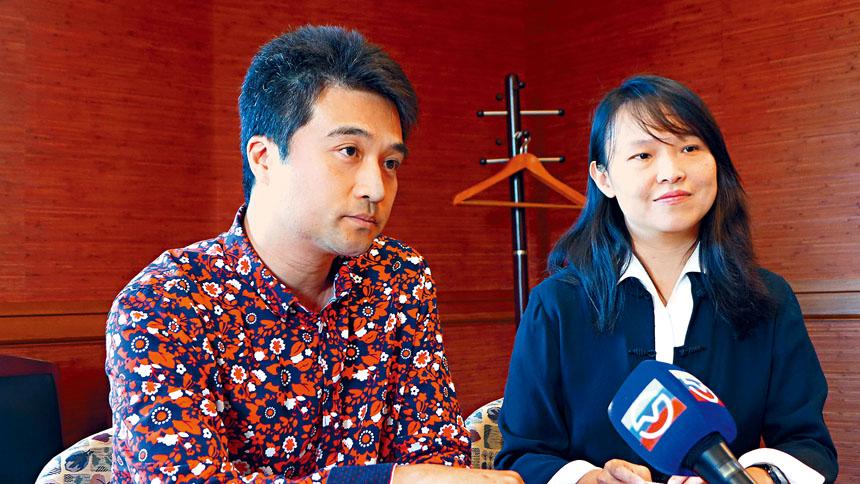 小提琴演奏家劉揚(左)、鋼琴演奏家蔡宜璇(右)將在28日晚7時在伊州理工學院的賀曼廳為范德庫克音樂學院,舉辦一場公益籌款演奏會。梁敏育攝