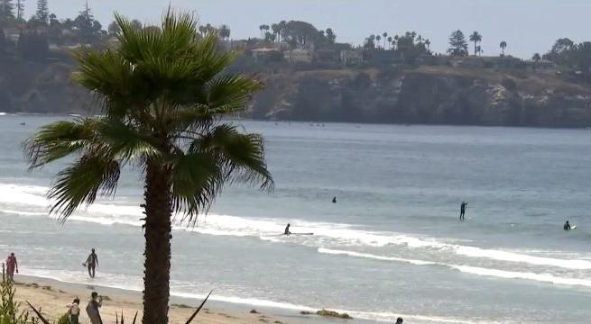 南加州海域溫度9月持續升高,打破103年的高溫紀錄。CBSLA