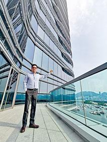 黃漢強表示,海濱匯冀藉此推動綠色社區發展。