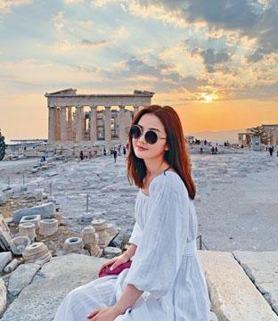 阿Sa暢遊文明古國希臘,一圓兒時夢想。