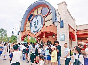 上海迪士尼推新規,允許遊客攜帶食物入園。