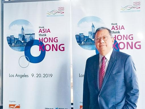 林建岳表示,除本地市場外,香港中小企可考慮發展東盟及大灣區市場。
