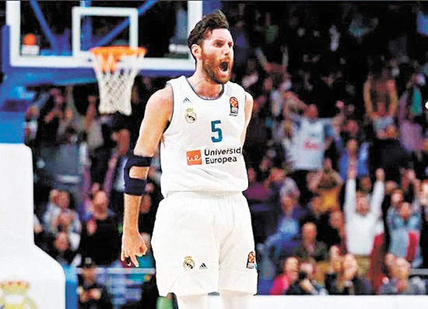 魯迪離開NBA回歸歐洲後,球場與情場雙豐收。網上圖片