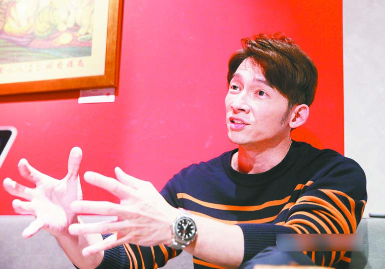 ■溫昇豪日前接受專訪,暢談台灣戲劇的蓬勃發展。 網上圖片