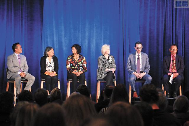 三藩市召開「老齡化總體規劃」研討會。記者彭詩喬攝