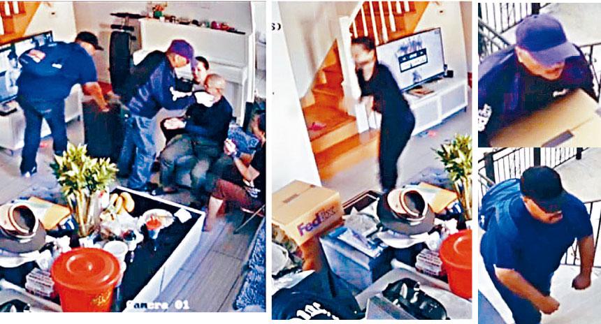 �臣拱玎]�f�T入屋禁�d打劫,警方逮捕一嫌疑人。�Y料�D片