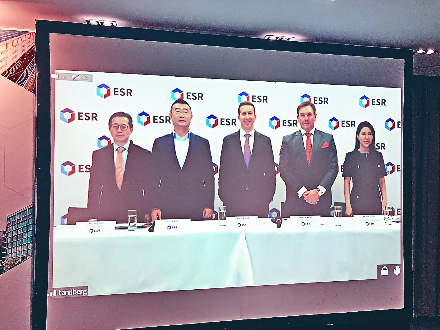 曾在6月展開招股的亞太區物流地產平台ESR Cayman捲土重來,集資逾113.74億元,集資額較6月份叫停招股前還要多16億元。