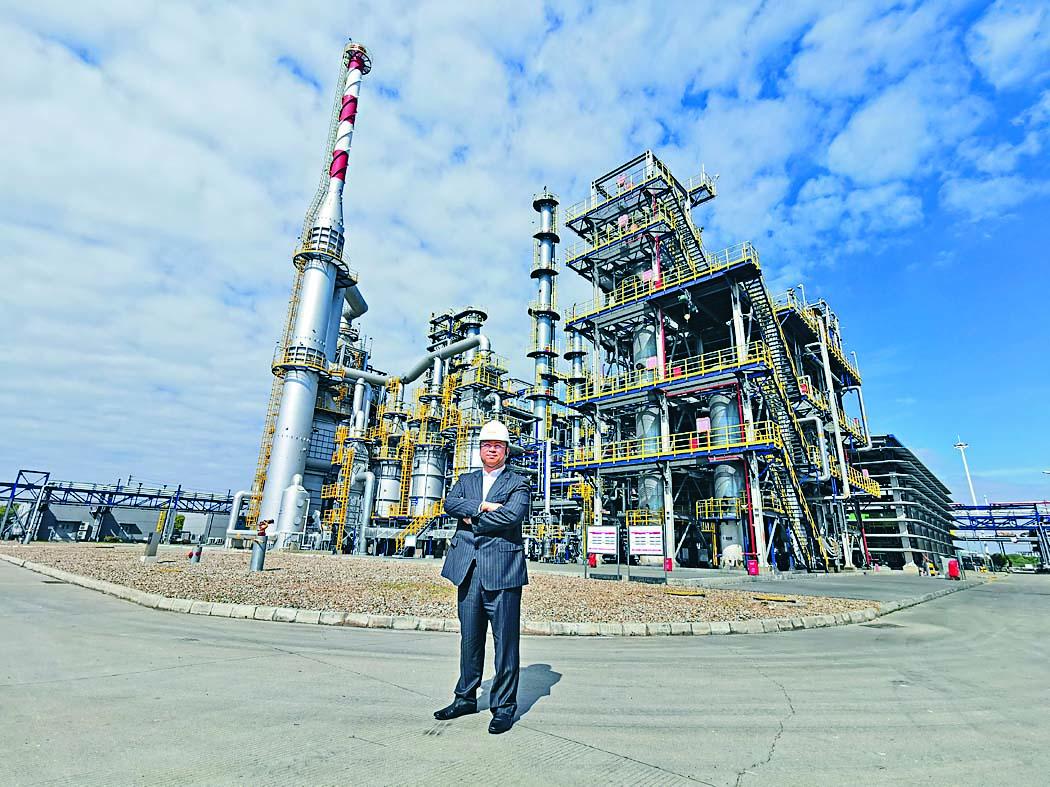 潘家樂表示,HVO的售價較傳統石化柴油高約三倍,利潤可觀。