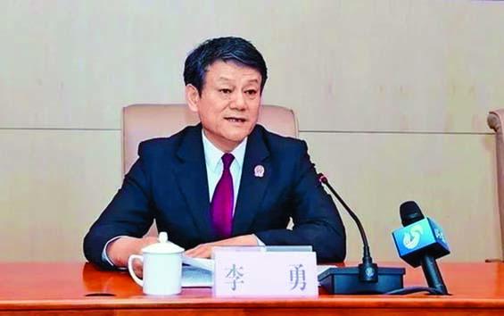 山東省高級法院副院長李勇及黑龍江網信辦原副主任孫躍武(下圖)被查處。