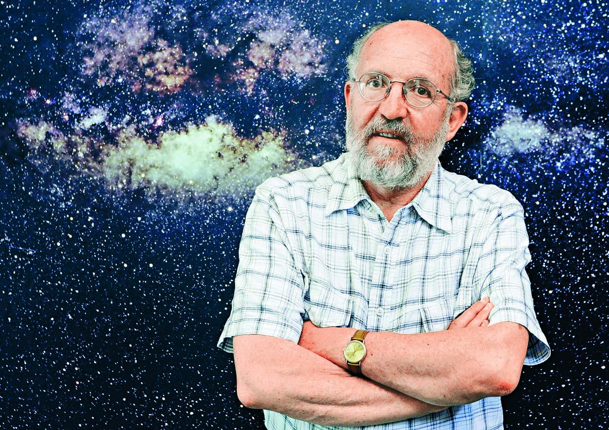 今年諾貝爾物理學獎得主:瑞士學者馬約爾。