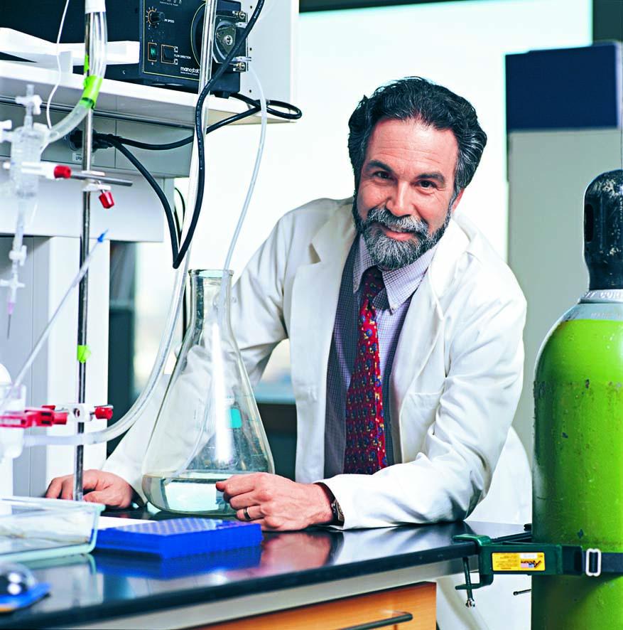 ■三位諾貝爾醫學獎得主︰美國國家科學院院士塞門扎。 美聯社