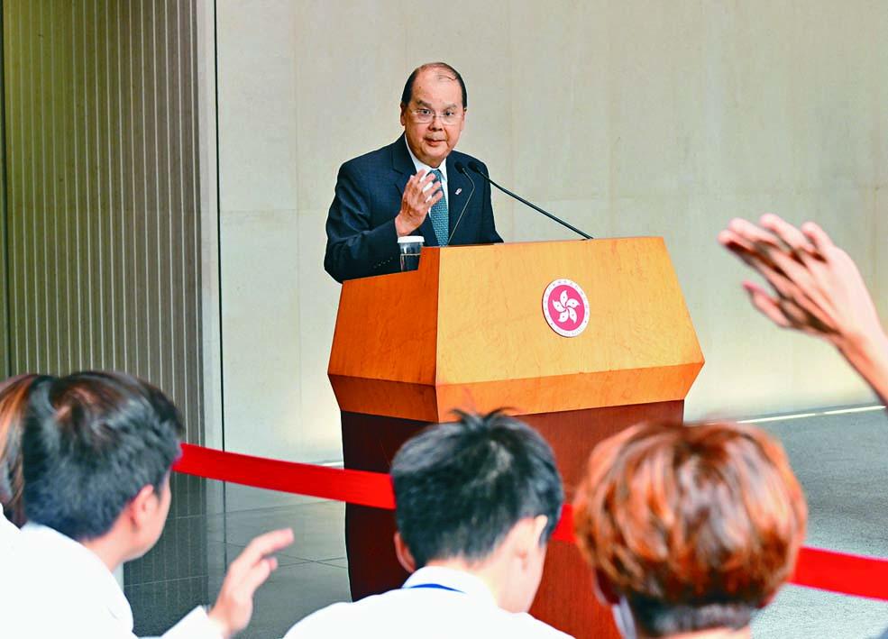 張建宗呼籲台灣實事求是,不能「強人所難」,更不要把簡單問題複雜化。