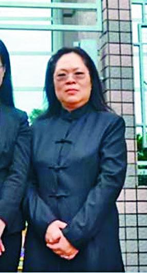 遇襲的法庭檢控主任邱錦玲。