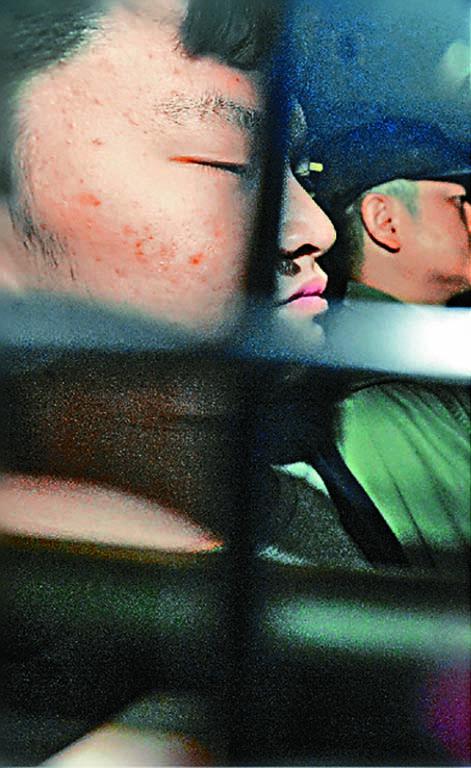 涉台灣殺人案的陳同佳(圖),以及牧師管浩鳴被台灣限制入境。