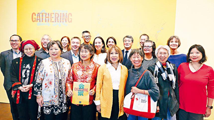 全美28個華人文化機構來參加展覽開幕,並將參與研討會。