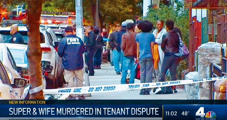 鄰居指出,被殺夫婦是區內出名的好人。NBC新聞截圖
