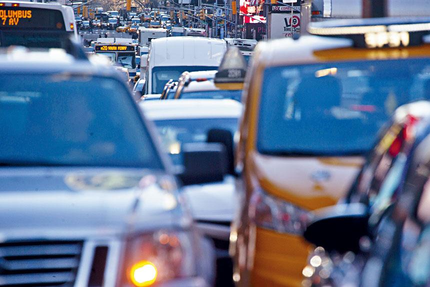 紐約市將於2021年推動「擁擠費」計劃。 Dave Sanders/紐約時報