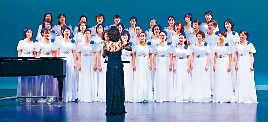 凌空女子合唱團舉辦成立5周年音樂會。