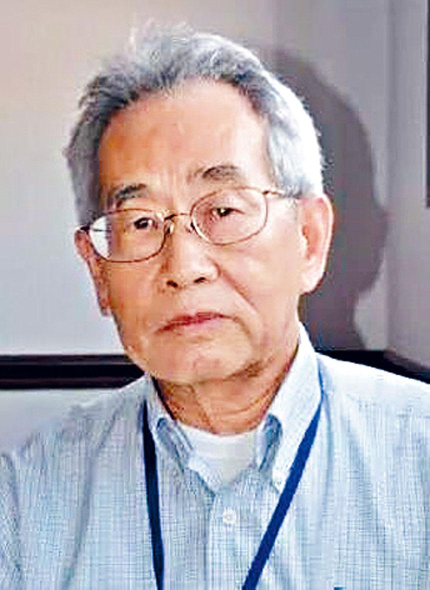 圖為華新民博士。