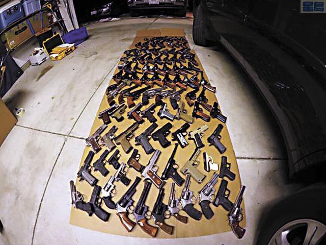 內華達州男子被控在加州非法賣槍。當局搜出大批槍械。加州東區聯邦檢察官辦公室