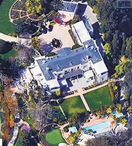 恩坎塔達莊園再創美國房價紀錄。谷歌地圖